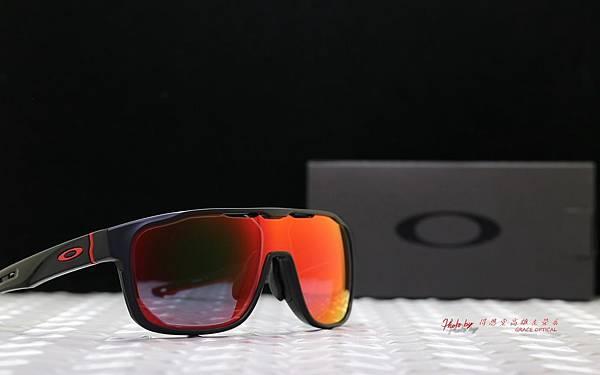 Oakley Crossrange Shield OO9390 ASIA FIT運動太陽眼鏡 & 客製化SPORT彩色紅鍍膜近視鏡片 高雄得恩堂左營店 專業銷售店