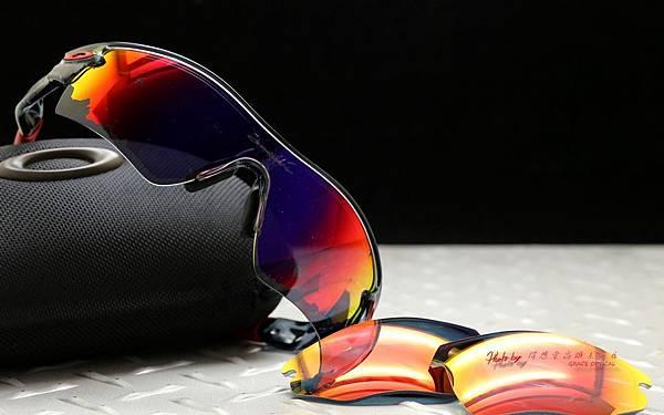 Oakley RADAR PATH運動型太陽眼鏡 & 客製化SPORT全視野偏光有度數運動型鏡片