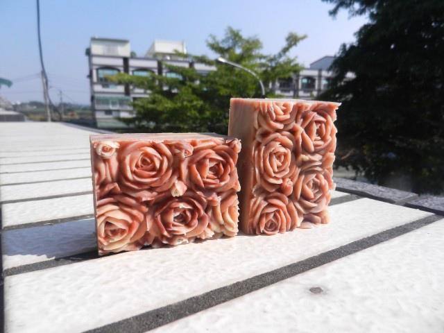 #438甜杏米糠母乳皂