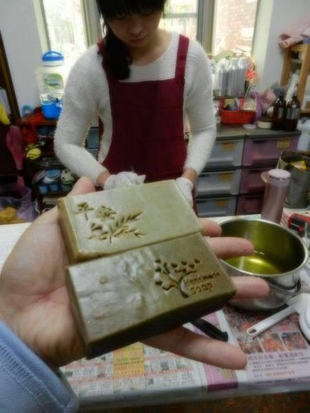 20140110 大林劉小姐一對一母乳皂教學