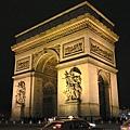 巴黎-凱旋門Arc de Triomphe