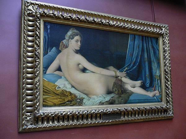 《大宮女》1814年,作者:讓.奧古斯特.多米尼克.安格而