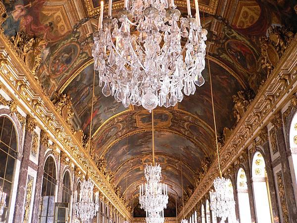 凡爾賽宮Château de Versailles-鏡廳