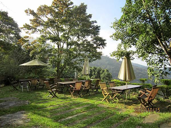 山上庭園咖啡一隅