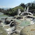 台中新社古堡莊園-迷霧噴泉