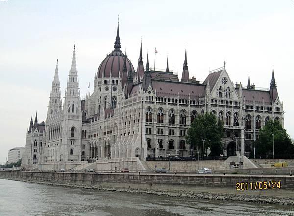 布達佩斯多瑙河遊船-匈牙利國會大廈