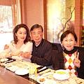 與家人聚餐-鐵板燒 2007年2月