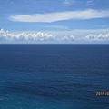 蘇花公路沿岸藍天白雲