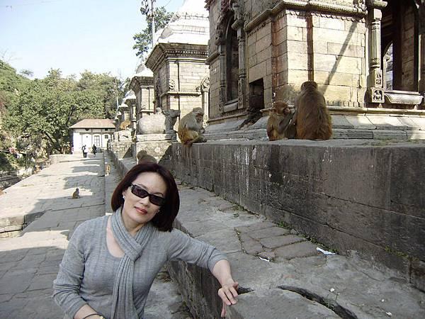 尼泊爾之旅086-帕蘇帕提那寺外.巴格馬提河火葬場
