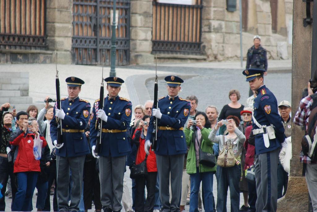 布拉格城堡衛兵