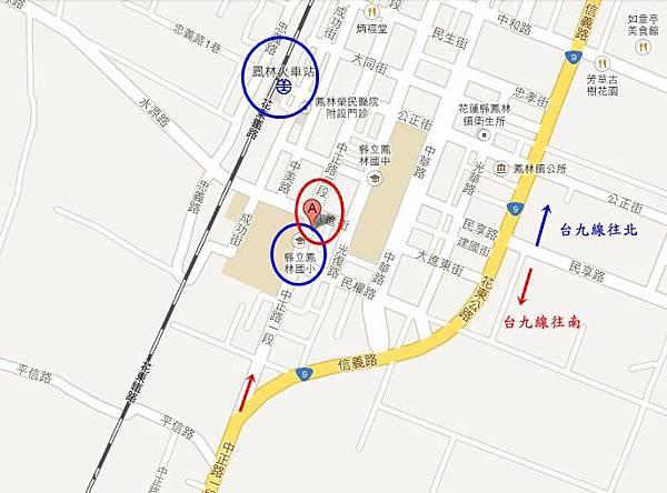鳳林游翁韭菜臭豆腐地圖-tile