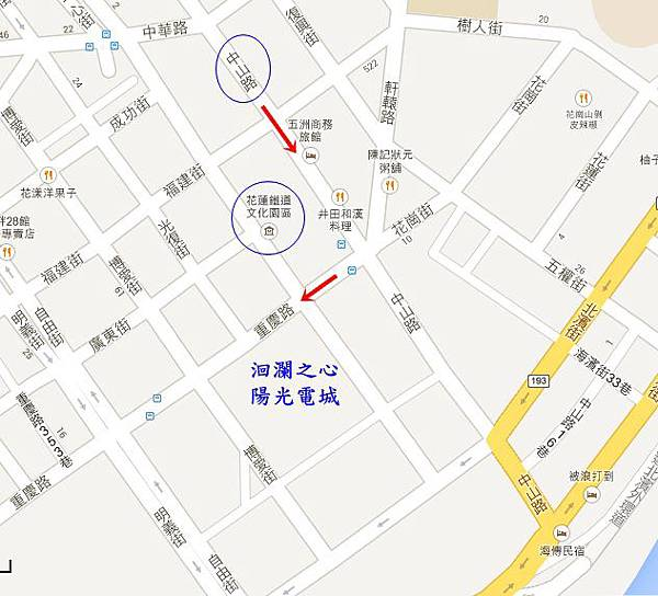 陽光電城地圖-tile