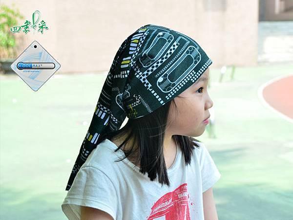 Coolmax 吸濕排汗透氣魔術頭巾