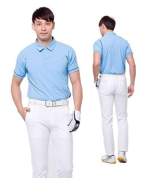四季丰采 COOLUV 男款高爾夫POLO冰涼衣短袖-3.jpg