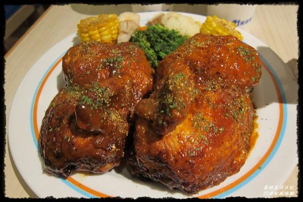 21世紀風味館(台北京站):好夠味的惡魔烤雞就在21世紀風味館(台北京站店)