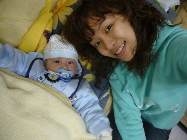 我與小寶的第一次合照