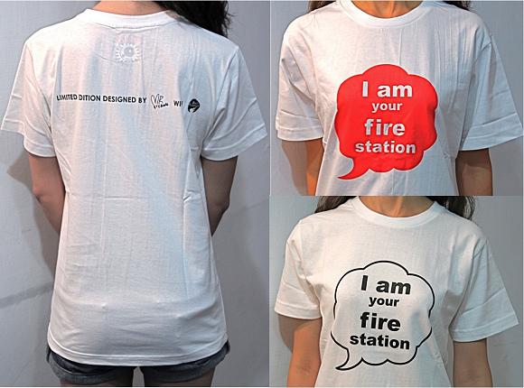 我是你的消防局T恤  售價$450