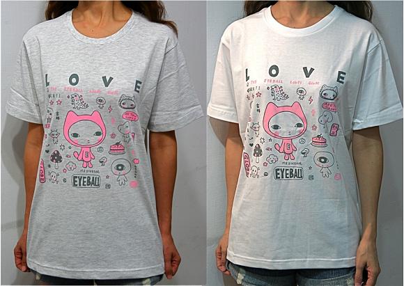 EyeBall 繽紛T恤  售價$450