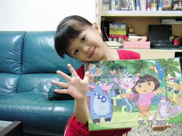 涵涵5歲生日