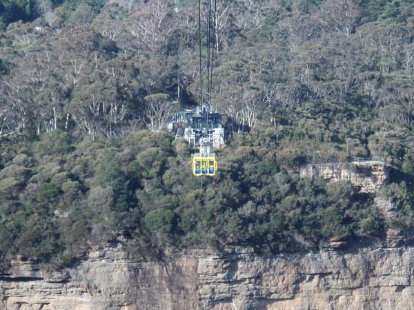 藍山的纜車
