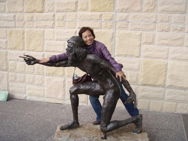 媽媽~藍山公園外