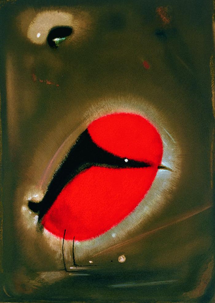 婆憂鳥(劉其偉,50x36cm,1994,石版畫).jpg