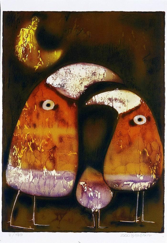 夜歸人(劉其偉,2000,55x40,石版畫,180張).jpg