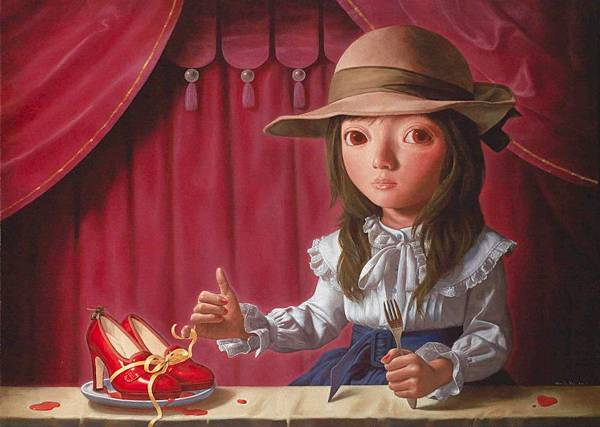與紅鞋的約定 油畫 2011 84cm x 60cm.jpg