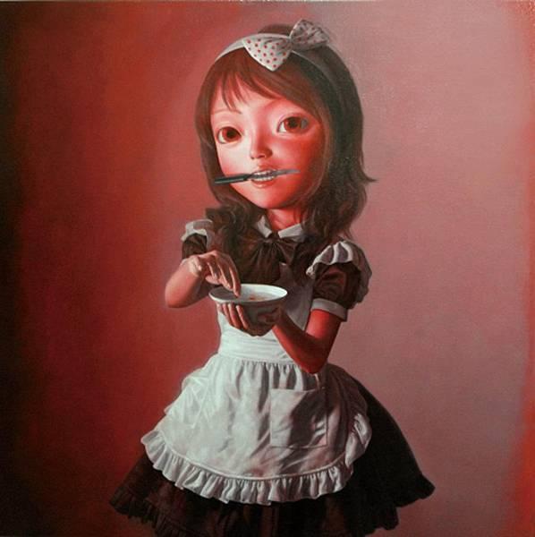 歃血結盟 油畫 2010 100x100 cm.jpg