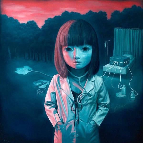 留白的記憶 油畫 2011 91x91cm 30F.jpg