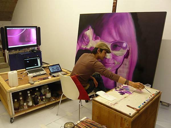 2009個展現場繪畫2.jpg