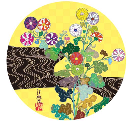 村上隆(澗聲_光琳金_2010_TAKASHI_MURAKAMI_Kansei_Korin_Gold.jpg