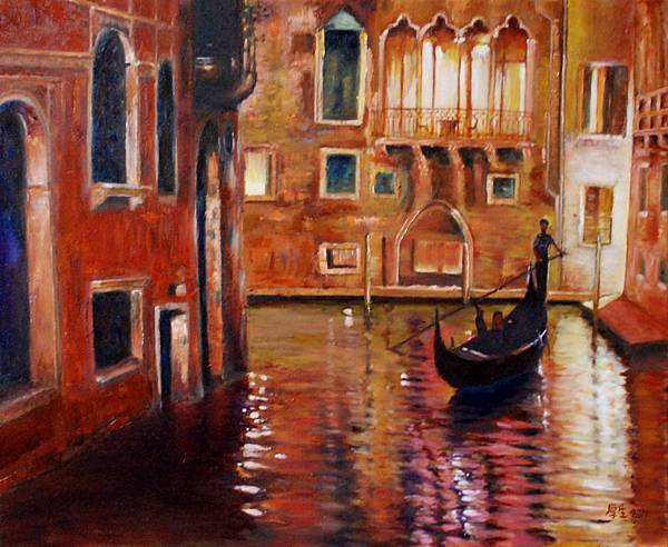 威尼斯之夜(油彩12F).JPG