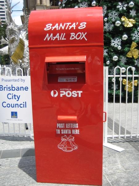 寄給聖誕老人的信請投這兒~