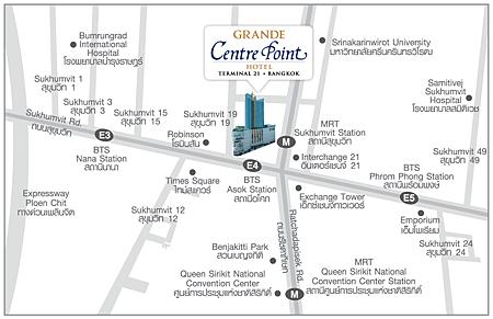 terminal21的地理位置