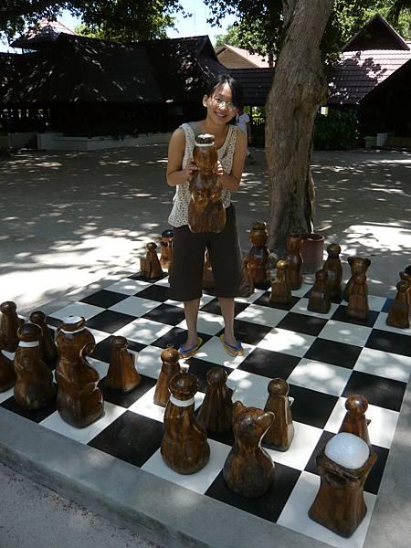 實木的棋子.JPG