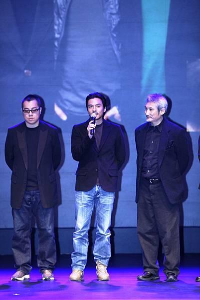 華誼兄弟H計畫發佈會照片_太極導演馮德倫