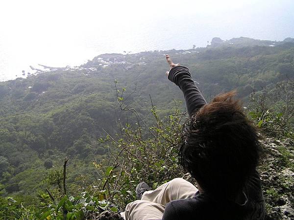 觀海崖很深