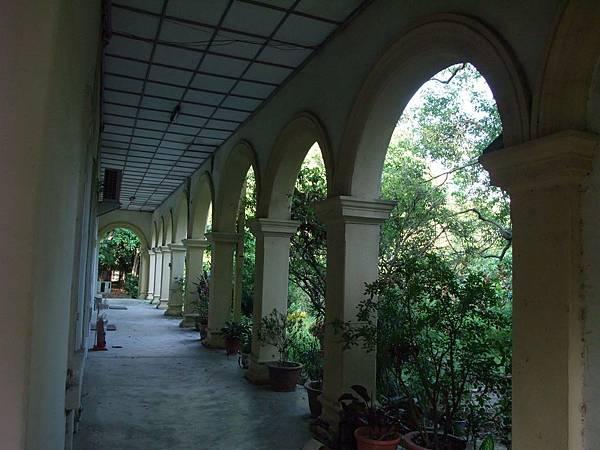 社宅事務所迴廊
