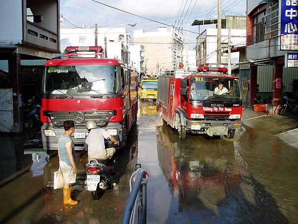 台北‧台中雙城消防車