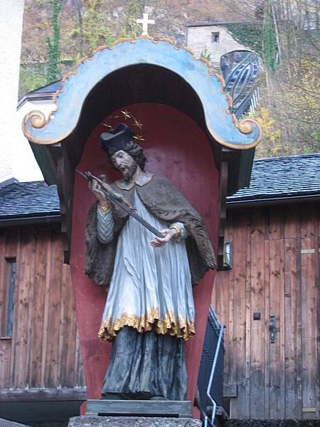 聖史帝夫修道院外