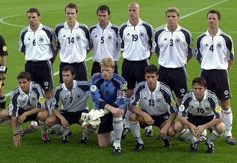 德國隊先發陣容1