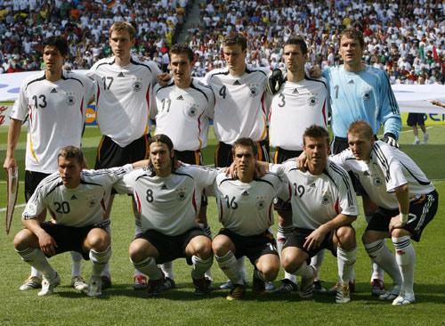 德國隊先發陣容2