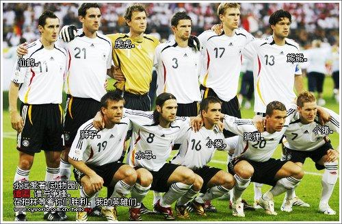德國隊先發陣容7