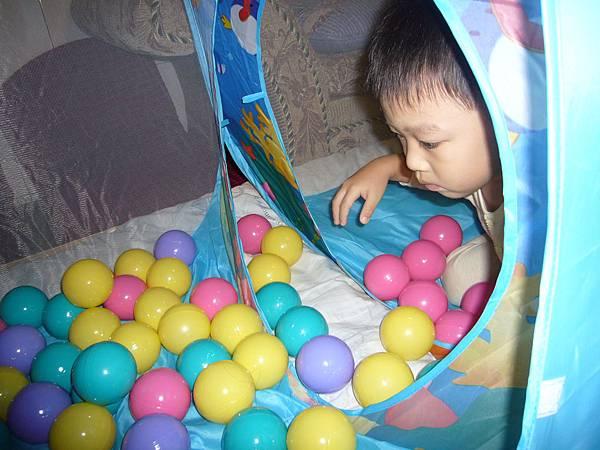 小廷把球用顏色分類.JPG