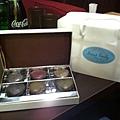 我送給寶貝的,巧克力馬卡龍~甜滋滋唷^^