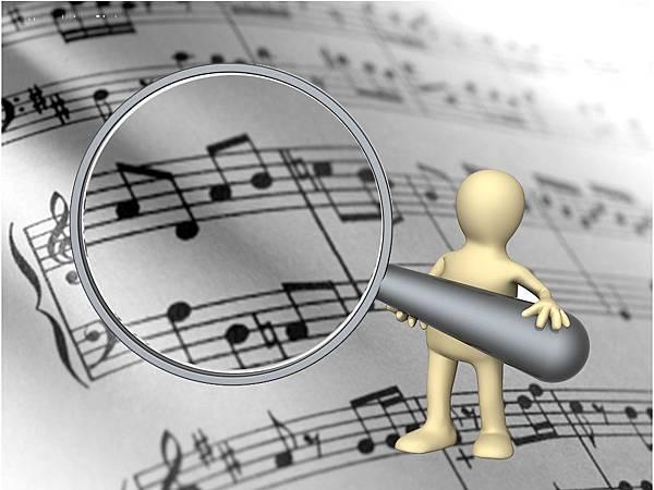 樂譜放大鏡