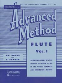 rubank-advanced-method-flute-vol-1-himie-voxman-paperback-cover-art