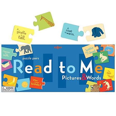 eeBoo Read to Me Puzzle Pairs