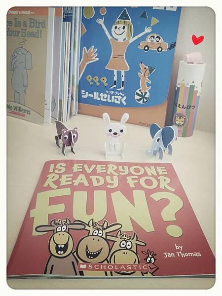 Is everyone read for fun 2